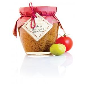 Paté di Olive verdi e pomodoro